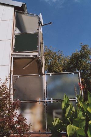 Gelander Balkongelander In Edelstahl Als Sichtschutz Element Am
