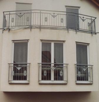 Gelander Balkongelander Verzinkt Am Balkon Mit Franzosischen