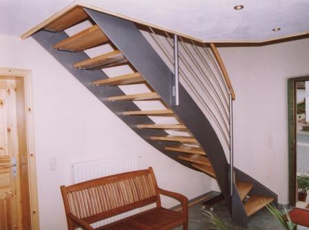 Dachausbau treppe