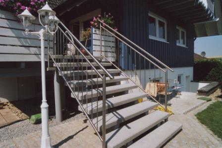 Außentreppe beton preis